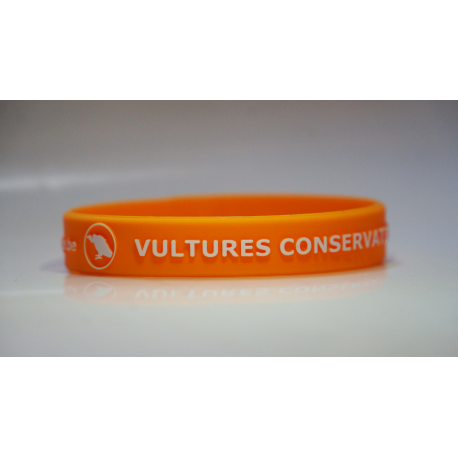 Bracelet Vautour Conservation (Orange)